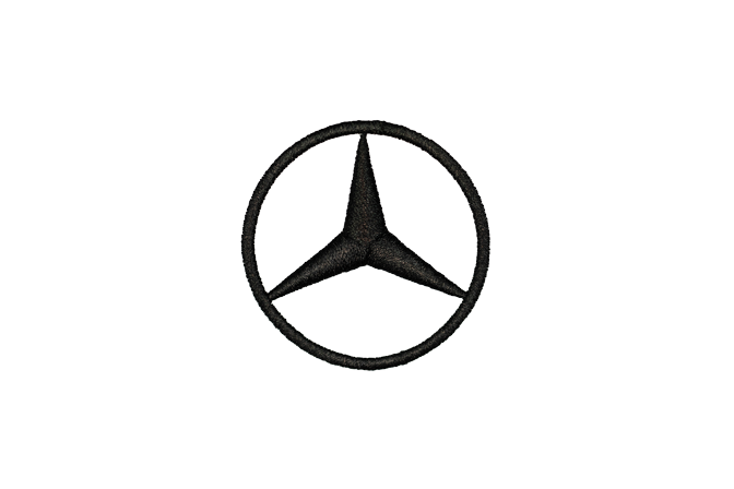 Mercedes Embroidery logo