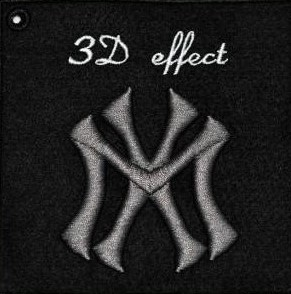 3d embroidery method