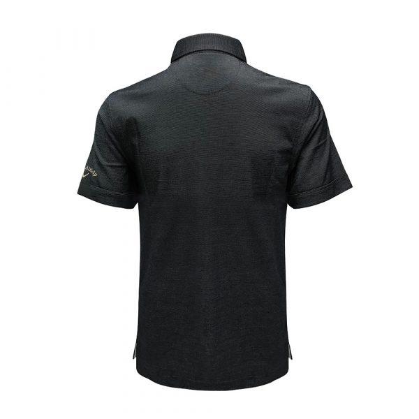 black callaway shirt polo back