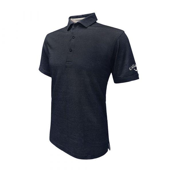 callaway polo shirt side black