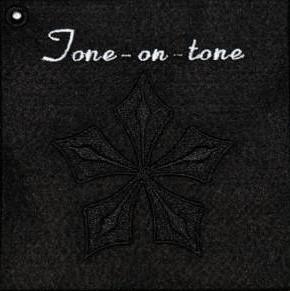 tone on tone embroidery method