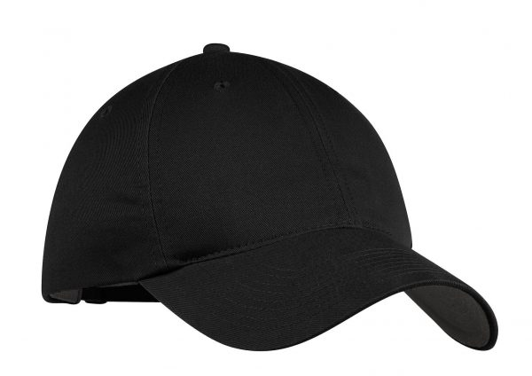 Black Nike Unstructured Twill Cap