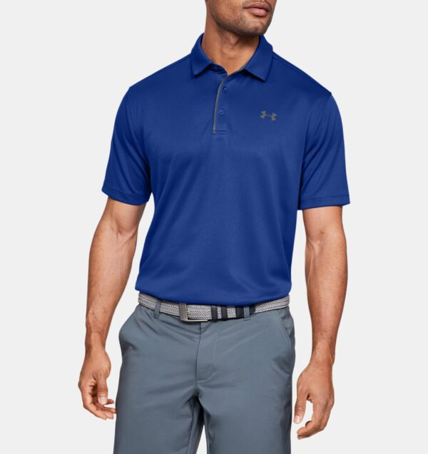 Corporate Tech Polo Royal Front