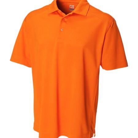 DryTec Genre Polo Men Tennessee Orange Front