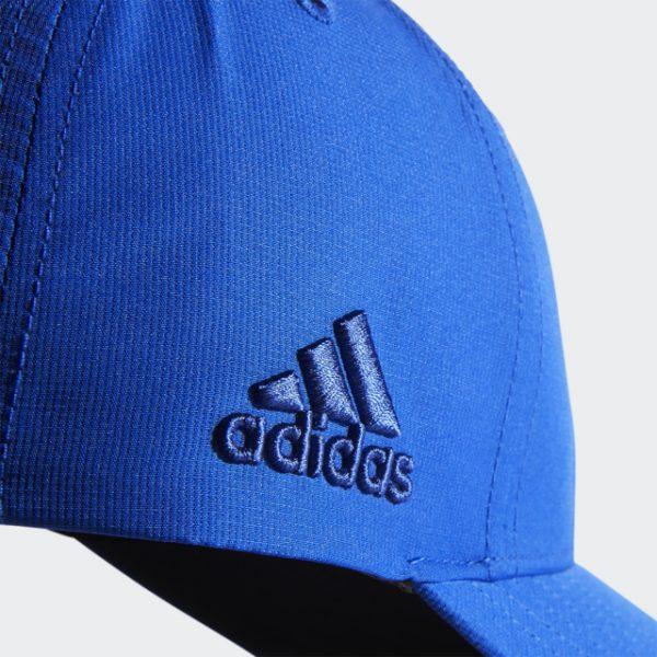 Adidas Blue Crestable Performance Hat with Adidas Embroidery