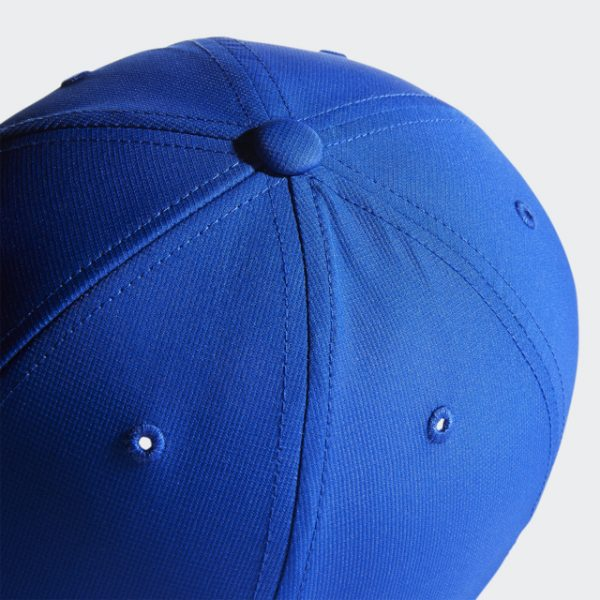 Top view of Adidas Blue Crestable Performance Hat