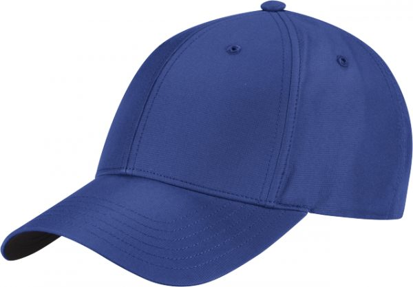 Side profile of Adidas Blue Crestable Performance Hat
