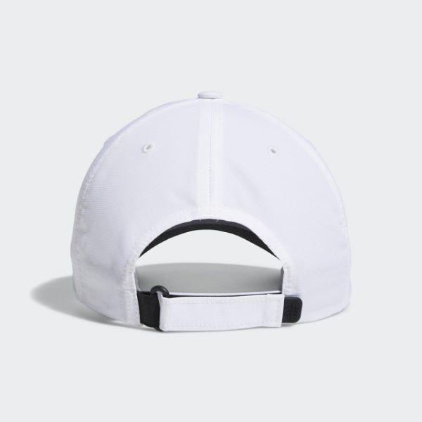 Adidas Golf White Side-Hit Cap Back