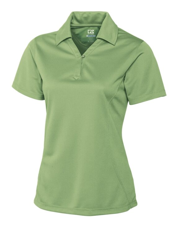 Ladies CB DryTec Genre Polo Putting Green Front