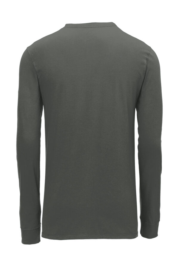Nike Dri FIT Cotton Poly Long Sleeve Tee Back