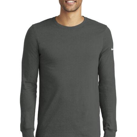 Nike Dri FIT Cotton Poly Long Sleeve Tee