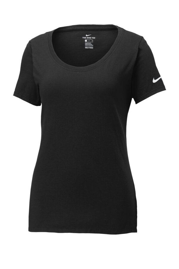 Nike Ladies Core Cotton Scoop Neck Tee Front
