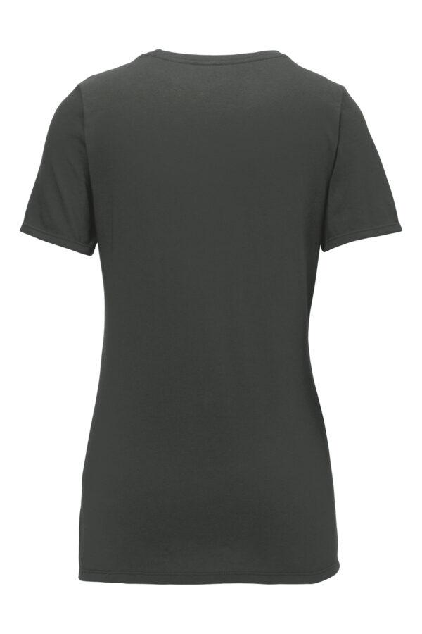 Nike Ladies Dri FIT Cotton Poly Scoop Neck Tee Back