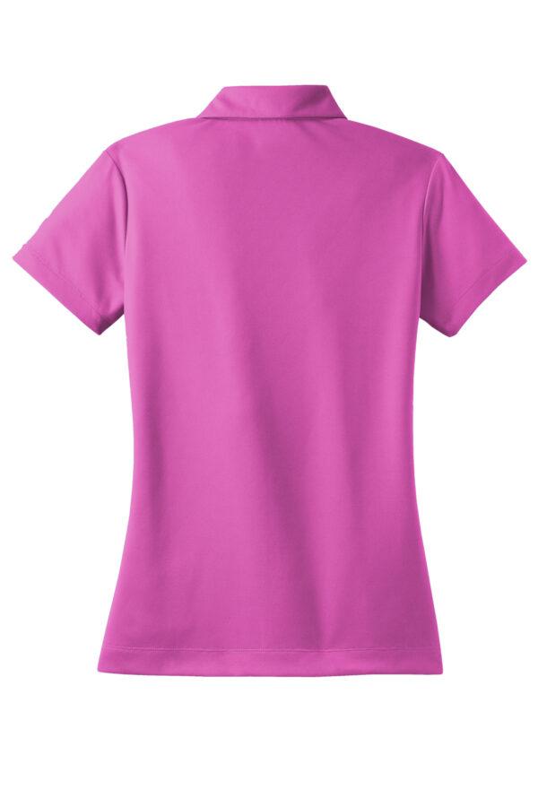 Nike Ladies Dri FIT Micro Pique Polo Back