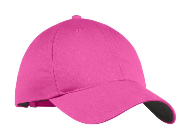 Pink Nike Unstructured Twill Cap