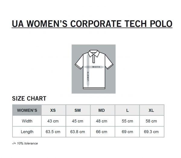 UA Women Size Chart