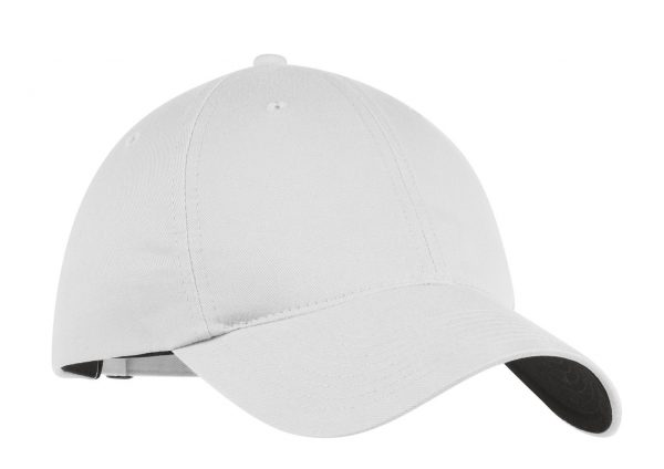 Nike Unstructured Twill White Cap