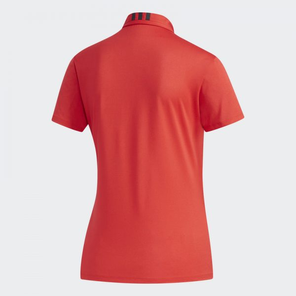 Ladies Polo Red Back BC2869